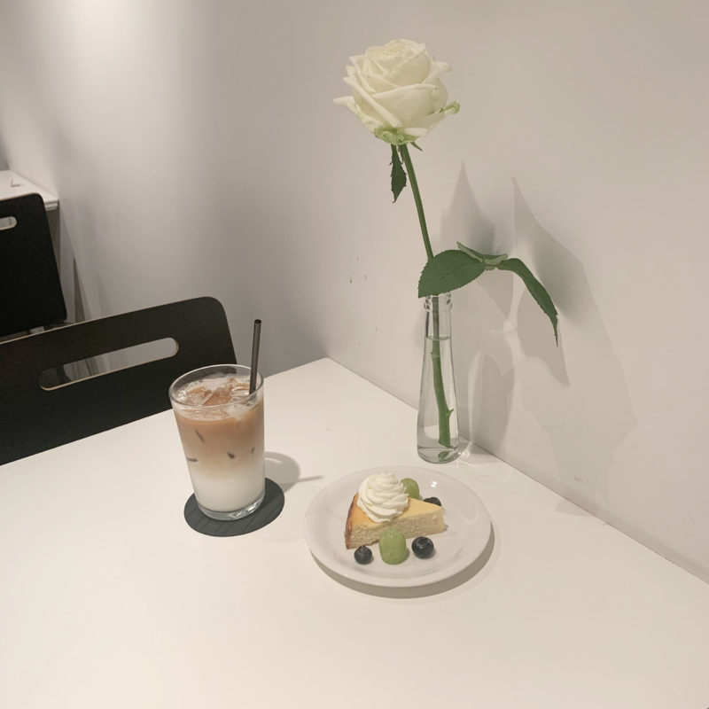 【THE CONTEMPORARY FIX】超お得なドリンク付!ベークドチーズケーキセット ¥800(税抜)