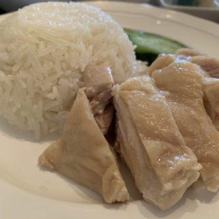 【四条パクチー】四条烏丸からすぐヘルシーなタイ料理ランチが食べられる!!カオマンガイセット ¥930(税込)