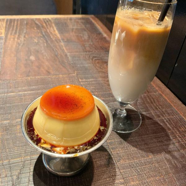 【RUFF】昔ながらのレトロな雰囲気 喫茶店のプリンセット ¥950(税抜)