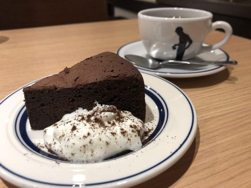 【Okaffe kyoto】しっとり濃厚!店長ゴトウさんが考案したゴトーショコラ ¥550(税込)