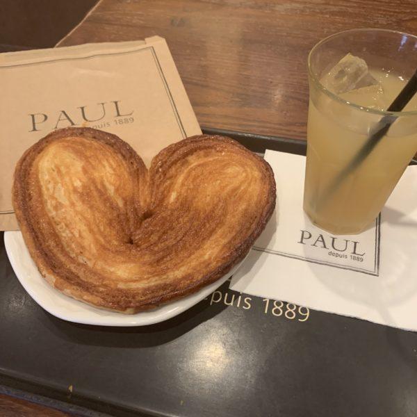 【PAUL】ハート型のサクサクパイ パルミエ ¥388(税込)