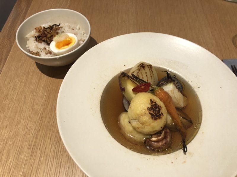 【本と野菜 OyOy】体に優しい野菜たっぷりランチ!OyOy ベジスープランチ ¥1,300(税抜)