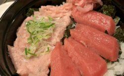 【海鮮ときどきブタ】豪華な海鮮丼がお手頃に♡ 中トロ・ねぎとろ丼 ¥1,000(税抜)