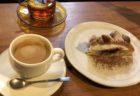 【イノダコーヒー】ラム酒とチョコレートの大人スイーツ ラムロック ¥540(税込)