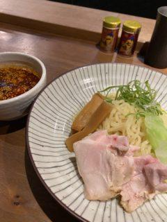 【焼き鳥一】ミシュランビブグルマンにも掲載!!胡麻辛地鶏つけ麺 ¥1,000(税込)