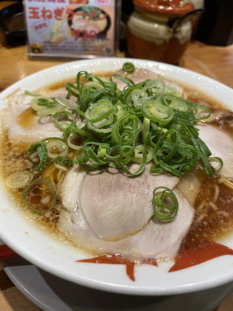 【天天有】濃厚スープがやみつきになるラーメン 醤油ラーメン+有セット ¥990(税込)