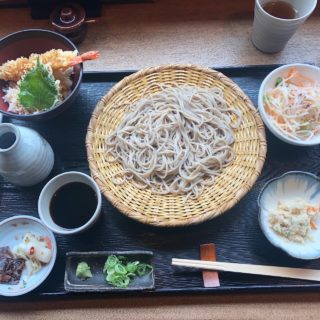 【蕎麦の実 よしむら】職人さんがこだわりぬいて作られているお蕎麦屋さん 蕎麦の実膳 ¥1,345(税込)
