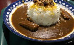 【HUB】昼飲みもできちゃうお洒落なパブで頂く!やわらかビーフの英国風カレーライス ¥900(税込)