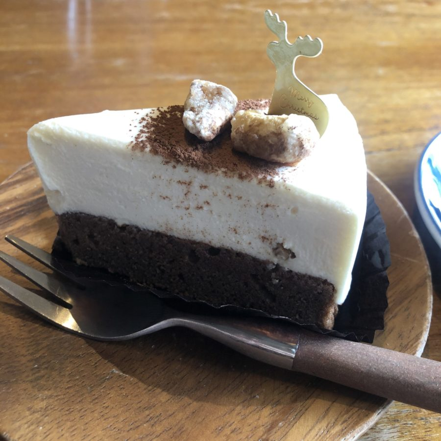 【cafeOWL】居心地抜群カフェで自家製スイーツを頂く キャラメルショコラムース ¥864(税抜)