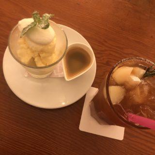 【Cao Cafe ishikawa】Barの顔とCafeの顔。あなたはどちらで楽しむ? アフォガード🍨🥄¥550(税抜)
