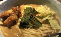 和醸良麺すがり 絶品モツ好き必見の四条烏丸ラーメン ラーメン・もつ・ゆず麺 ¥1,000(税込)